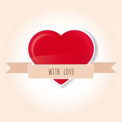 corazon con cariño