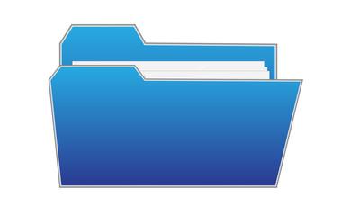 Blue File Icon