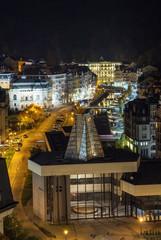 Karlovy Vary in evening light