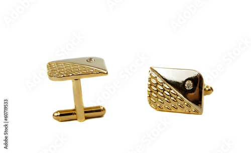 cufflinks isolated