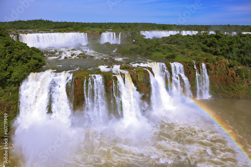 The best-known falls in the world - Iguazu