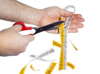 Dieta - Taglio centimetro