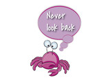 inspirational and motivational quotes/never look back