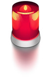 red alarm light