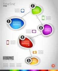 Modern Infografics template for data visualizations.