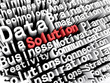 Solution Business Words Concept