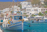 Port on the island of Milos