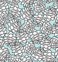 pinecone seamless pattern