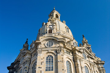 Church Frauenkirche in Dresden