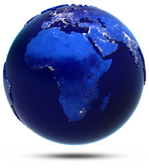Africa continent and countries