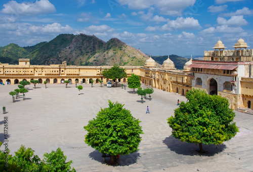 Amber Fort near Jaipur city , India