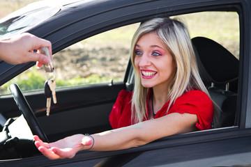 consegna automobile
