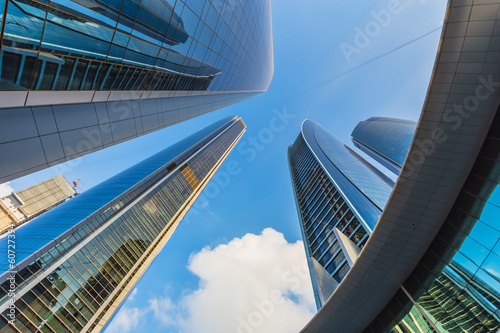 Skyscrapers in Abu Dhabi, UAE