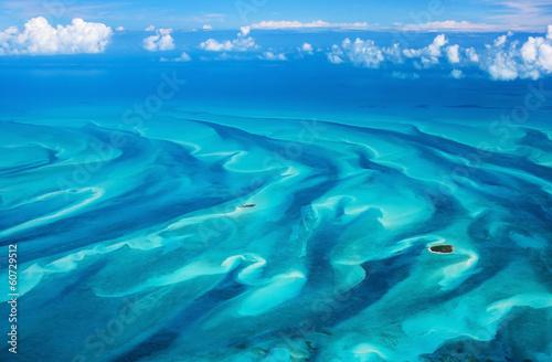 Fotobehang Caraïben Bahamas aerial