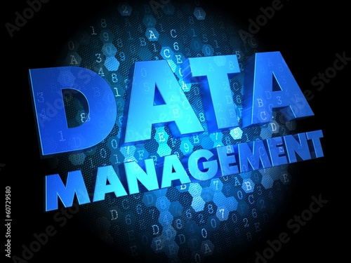 Data Management on Dark Digital Background.