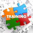 Training on Multicolor Puzzle. - 60730500