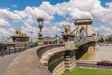 The Szechenyi Chain Bridge is a beautiful, decorative suspension