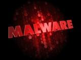 Malware on Dark Digital Background. poster