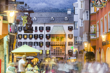 The Golden Roof in Innsbruck, Austria.