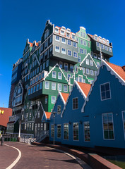 Architecture in Zaandam, Netherlands