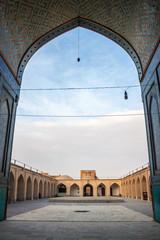 Jameh Mosque in Yazd, Iran.