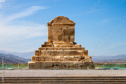 The tomb of Cyrus the Great, Pasargad, Iran