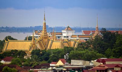 Royal Palace in Pnom Penh, Cambodia