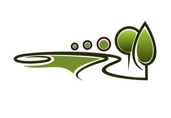 Landscape area symbol