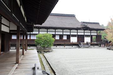 Ninna-ji temple, Kyoto. National treasure of Japan.