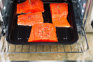 Baking Salmon in Oven