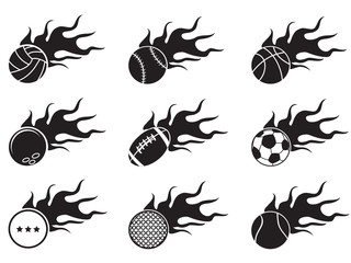 fire ball icons