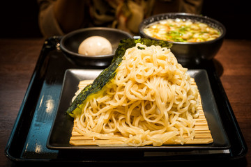 Zaru soba cold noodle traditional japanese food