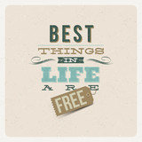 Cytat - Best things in life are free