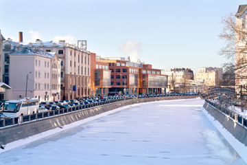 Moscow, municipal landscape