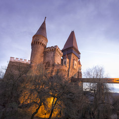 Corvin Castle from Hunedoara, Romania