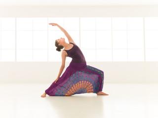 Urdhva Virabhadrasana yoga pose