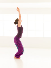 begginer hatha yoga posture