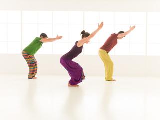 yoga posture Utkatasana