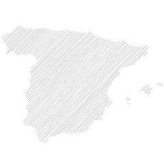 Mappa della Spagna