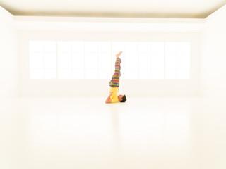 Sarvangasana yoga posture