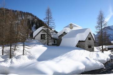 Le case Alpe Devero