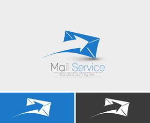 Symbol of Email, isolated vector design