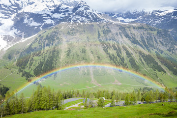Upper Tauern National Park near Grossglockner, Carinthia and Eas