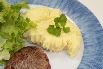 steak et purée