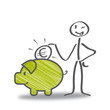 sparen, sparschwein - 60741775