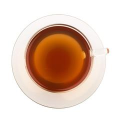 Top view of tea
