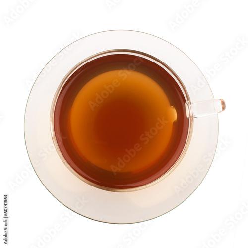 Keuken foto achterwand Thee Top view of tea