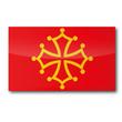 Flagge Midi-Pyrénées