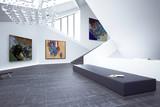 Inside a Art Gallery