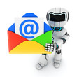 Robot and mail